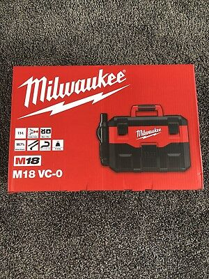 Milwaukee M18 VC-0 Vacuum Naked 18volt Brand New In Sealed Box
