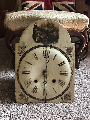 Rare Antique Wall Clock