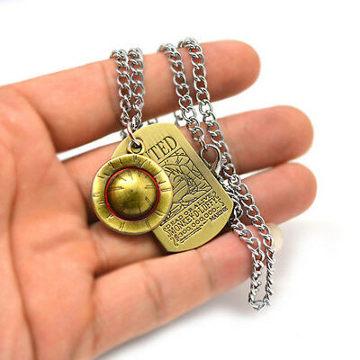 New Cosplay Anime One Piece Luffy/'s Straw Hat Metal Pendant Necklace Bracelet