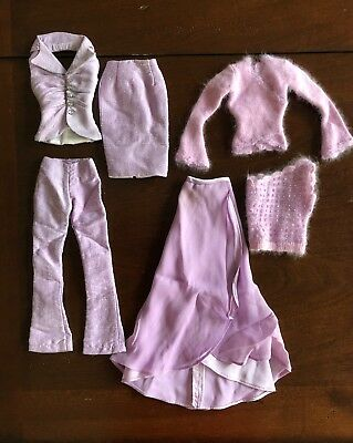 """16"""" Tonner Tyler Ready-to-Wear outfit lot: 2004 LILAC EVENING GROUP"""