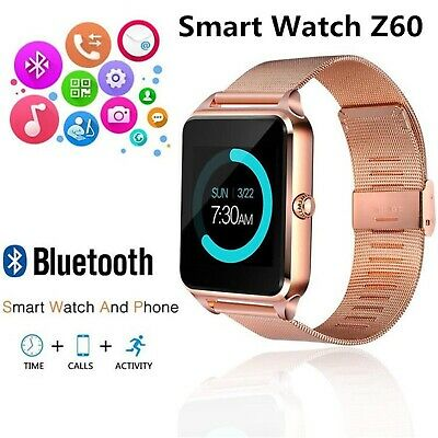 HD Smart watch bluetooth waterproof gsm SIM Phone CAMERA for android samsung ios