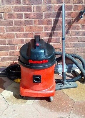 Numatic Industrial Wet And Dry Vac Hoover Twin Motor  110V