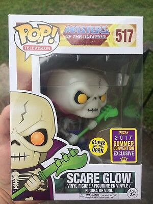Funko Pop! Masters of the Universe - SCARE GLOW #517 - 2017 SDCC GITD Exclusive!