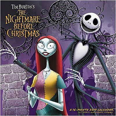 Nightmare Before Christmas - 2019 Wall Calendar - Brand New - Movie Hth652