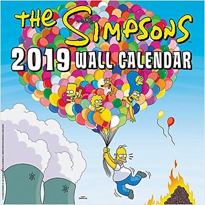 Simpsons - 2019 Wall Calendar - Brand New - Tv Show Hth516
