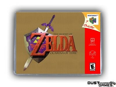 The Legend of Zelda: Ocarina of Time N64 Nintendo 64 Game Case Box Cover New Pro