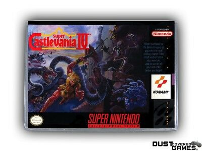 Super Castlevania IV SNES Super Nintendo Game Case Box Cover Brand New Quality!!