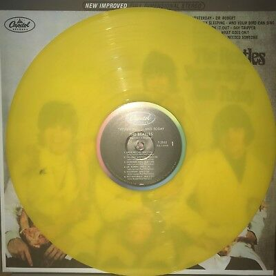 The Beatles Yesterday & Today Butcher Cover 180 Gram Yellow Colored Vinyl Lp