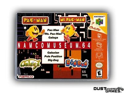 Namco Museum 64 N64 Nintendo 64 Game Case Box Cover Brand New Pro Quality!!!