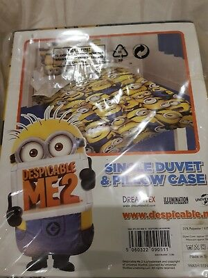 Despicable Me Minions Single Duvet Set