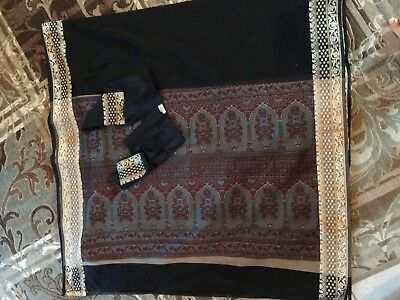 Indian Saree Sari New Very Beautiful.