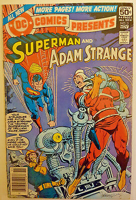 DC Comics Presents #3 Superman & Adam Strange November 1978
