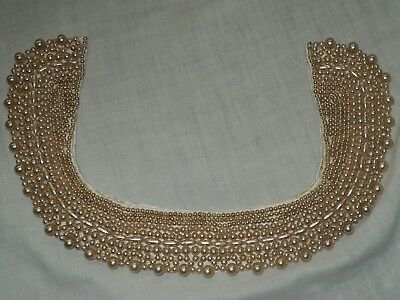 Used Vintage Beaded Collar Necklace Japan
