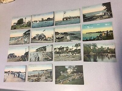 Retrac Postcard Series Set Of 15 From Early 1900s Sandgate Queensland