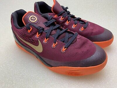 8a73b4d2f529 NIKE KOBE IX 9 GS Deep Garnet Gold Black Youth 653593 601 -  39.99 ...