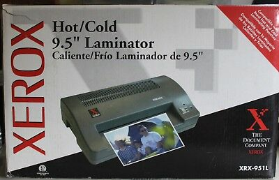 "Xerox Hot/Cold 9.5"" Laminator XRX-9511"