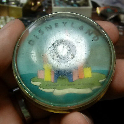 Old Walt DISNEY Productions DISNEYLAND Tomorrowland DUNCAN YO-YO Return TOP YOYO