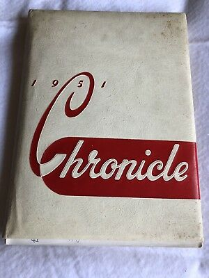 1951 Alliance Ohio High School Yearbook The Chronicle