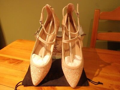 MIMCO glitter flats new condition size 10/41!