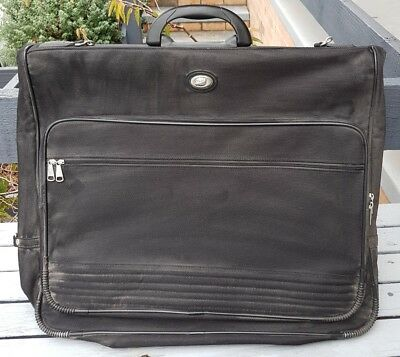 Travel Suit Dress Garment Bag Case Carrier - Black