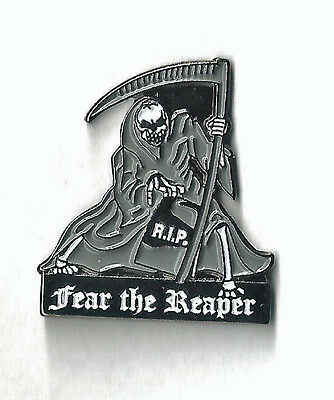 Fear The Reaper - Hat Pin / Metal Back