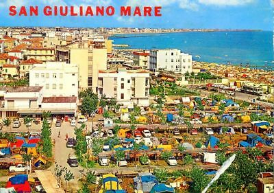 C3585 SAN GIULIANO MARE Auto Camping DKW 3=6 VW 1500 Ford Fiat 1960er