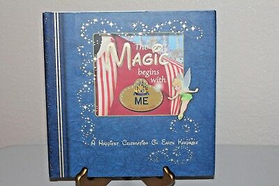 "Disney ""The Magic Begins With Me Book"" 50th Anniv 1955-2005 Cast Mbr Exclusive"