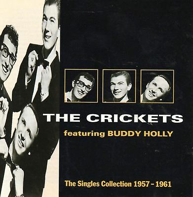 THE CRICKETS, BUDDY HOLLY the singles collection 1957-1961 (best of) (CD album)
