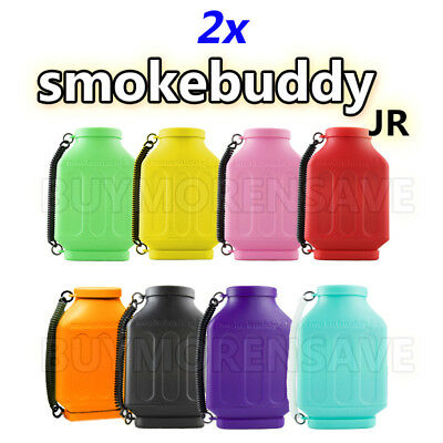 2X Smoke Buddy Junior Personal Air Smell Scent Odor Purifier Cleaner Pick Colors