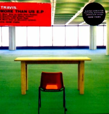TRAVIS more than us (CD, 4 track EP, CD2, limited-edition) brit pop, indie rock