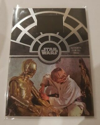 2017 Star Wars 40th Anniversary Authentic cell card 1of 1 A new Hope FCC-13