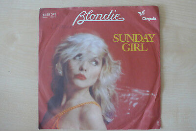 Blondie Vinyl Single Sunday Girl
