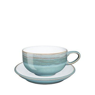 Denby Coast Azure teacup, cup & saucer set