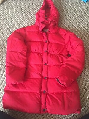 Girls Red Coat Age 12 euro 160 Immaculate