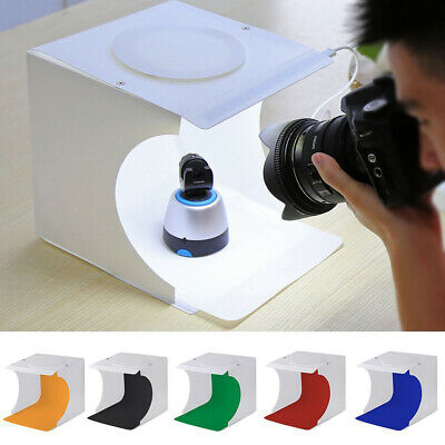 Light Room Photo Studio Photography USB LED Lighting Tent Mini Box W/ Backdrops