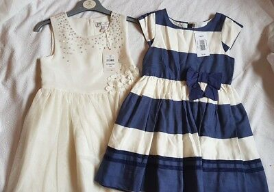 Girls clothes bundle occasion dresses age 4-5 years -New