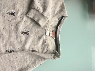 Monsoon Girls age 11-12 years Detailed Top/jumper   Excelelent condition