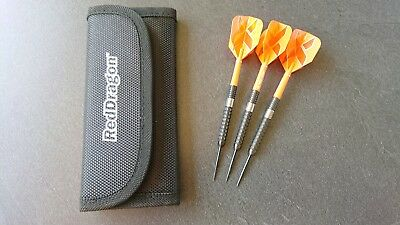 Red Dragon Steeldarts Carnage 22gr Top mit Target Setup