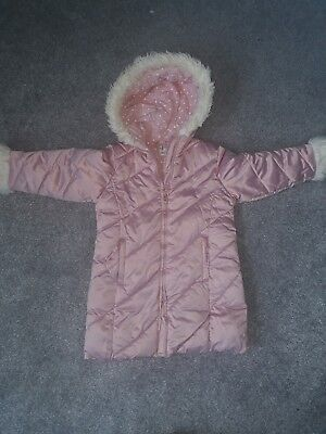 Girls winter coat Junior J  age 3 - 4 years