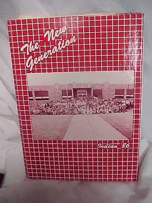 1986 Vici Oklahoma Yearbook K thru 12 Teachers's Copy Amost Everyone Signed it!