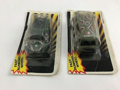 Summer -  2pc. Army Military Vehicles - New in Package - Vintage 1980s