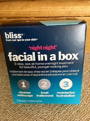 "Bliss ""Night Night"" Facial In A Box, 2 Treatments"