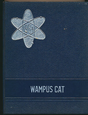 1964 Wampus Cat Conway Arkansas High School Yearbook Great Local Ads