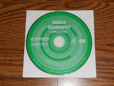 Switched on Schoolhouse World Geography History 900 9th 2013 SOS