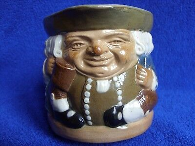 Early Doulton Lambeth Harry Simeon Toby Jug