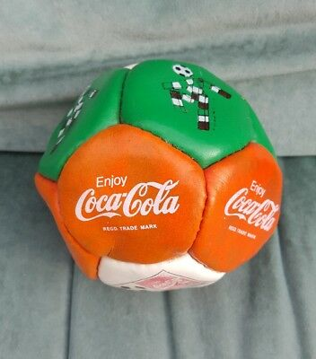 COCA COLA  ITALIA 90 MINI FOOTBALL WORLD CUP 1990 - Green, Red and White