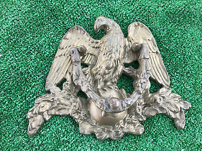 Antique Bronze Brass Metal American Eagle Door Knocker Large Size-Single Star