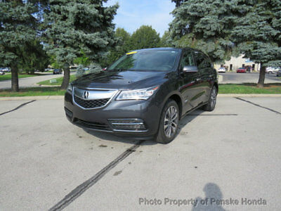 Acura MDX SH-AWD 4dr w/Tech H-AWD 4dr w/Tech SUV Automatic Gasoline V6 Cyl GRAY