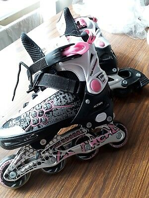 girls roller blades size 33-36 Buyer collect only