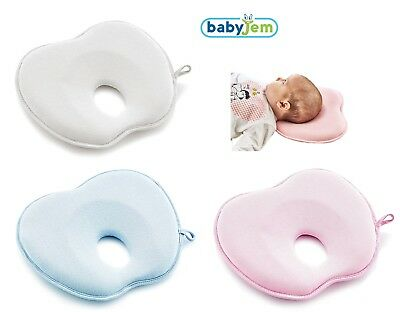 Soft Baby Cot Pillow Prevent Flat Head Cushion Sleeping Support (ART-415)